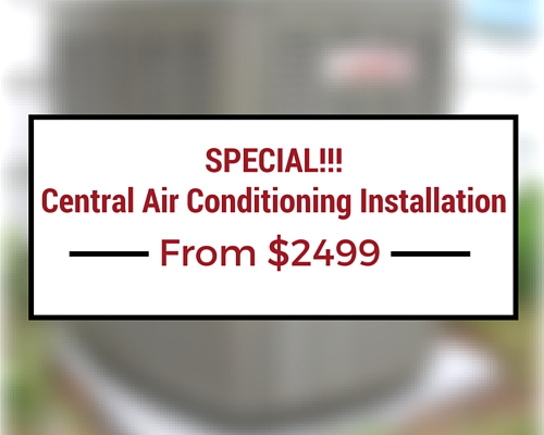 Furnace Replacement Special