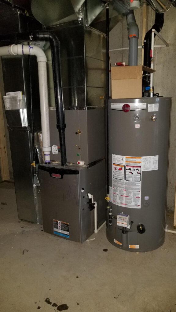 Water Tank Install